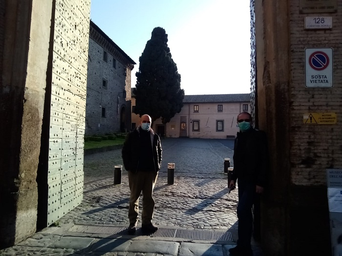 Visita all'abbazia di Grottaferrata